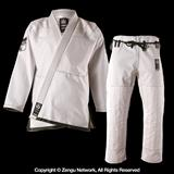 Do or Die Hyperlyte Jiu Jitsu Gi - White/Olive